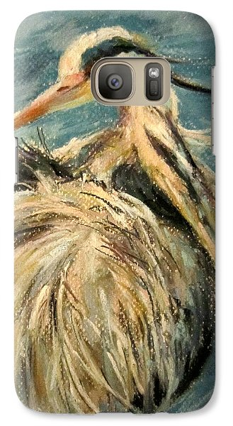 Galaxy Case featuring the painting In The Water  by Jieming Wang