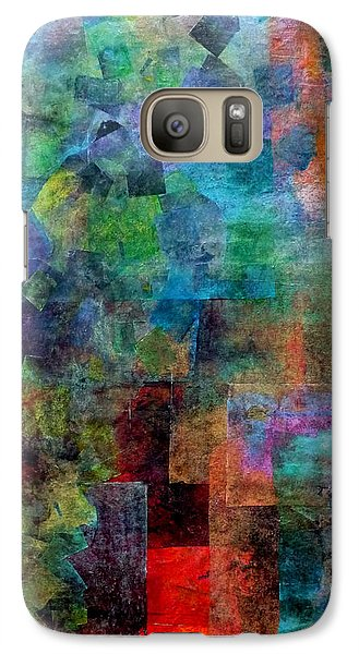Galaxy Case featuring the mixed media In The Wind by Jim Whalen