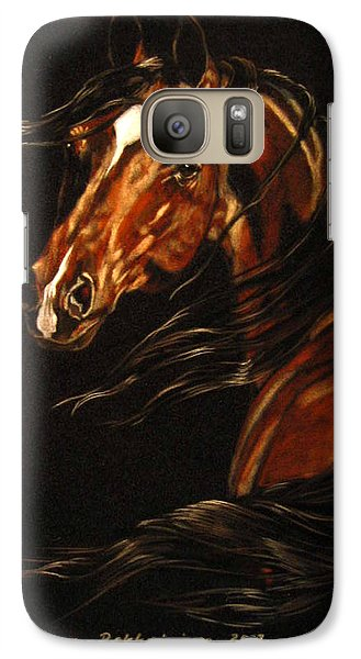 Galaxy Case featuring the painting In The Wind by Leena Pekkalainen