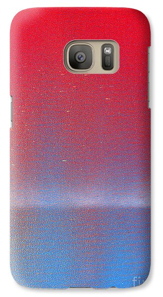 Galaxy Case featuring the painting In This Twilight by Roz Abellera Art