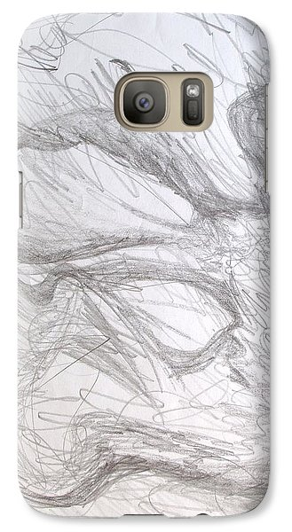 Galaxy Case featuring the painting In Vitro by Esther Newman-Cohen