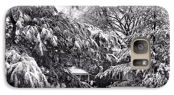 Galaxy Case featuring the photograph In Winter by Toni Martsoukos