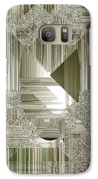 Galaxy Case featuring the painting Indecision I by RC deWinter