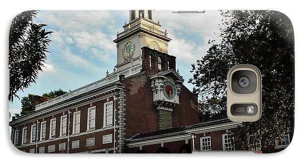 Galaxy Case featuring the photograph Independence Hall by Ed Sweeney