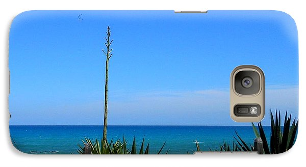 Galaxy Case featuring the photograph Indialantic By The Sea by Kay Gilley
