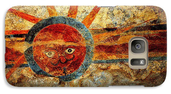 Galaxy Case featuring the photograph Southwestern Indian Art by Antonia Citrino