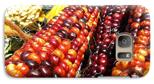 Galaxy Case featuring the photograph Indian Corn by Caryl J Bohn