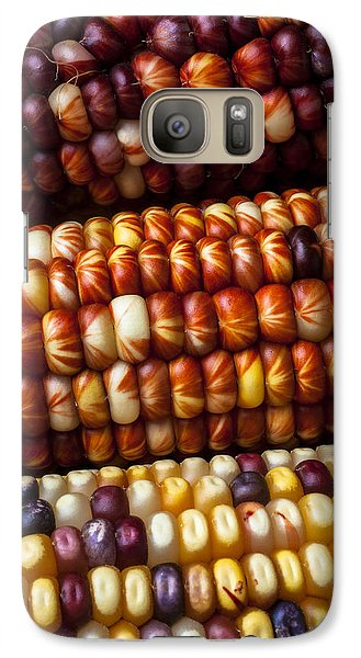 Indian Corn Harvest Time Galaxy S7 Case by Garry Gay