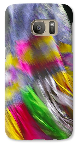 Galaxy Case featuring the photograph Indian Dance by Randy Pollard