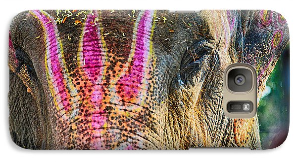 Galaxy Case featuring the photograph Indian Elephant by John Hoey