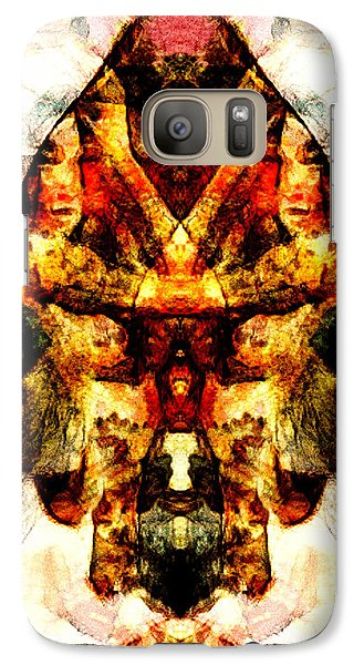 Galaxy Case featuring the digital art Indian Flavour by Andrea Barbieri
