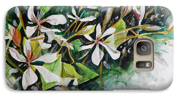 Galaxy Case featuring the painting New Orleans Indian Hawthorne by Michael Hoard