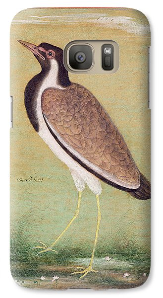 Indian Lapwing Galaxy Case by Mansur