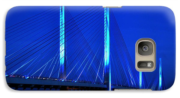 Indian River Bridge At Night Galaxy S7 Case