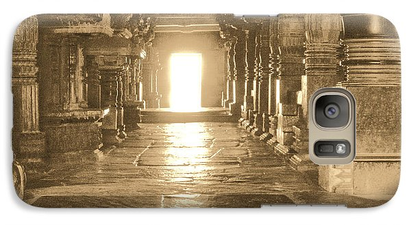 Galaxy Case featuring the photograph Indian Temple by Mini Arora
