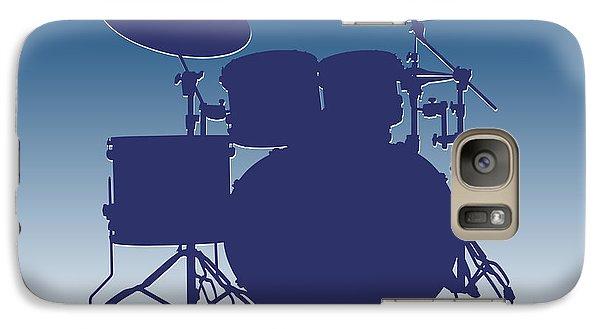 Indianapolis Colts Drum Set Galaxy S7 Case by Joe Hamilton