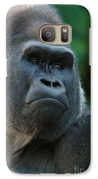 Galaxy Case featuring the photograph Indifference by Judy Whitton