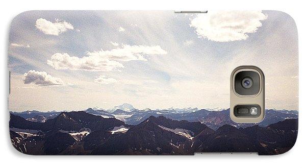 Galaxy Case featuring the photograph Indigo Vista by Devin  Cogger