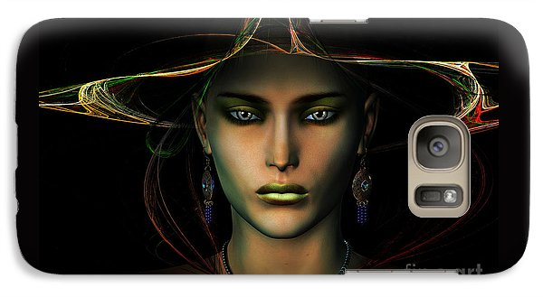 Galaxy Case featuring the digital art Individuality by Shadowlea Is