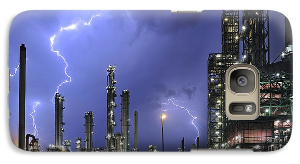Galaxy Case featuring the photograph Lightning by Arterra Picture Library