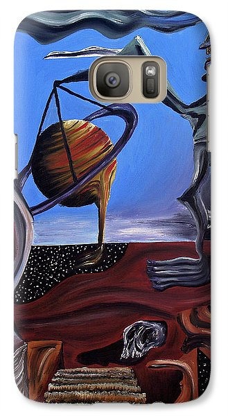 Galaxy Case featuring the painting Infatuasilaphrene by Ryan Demaree
