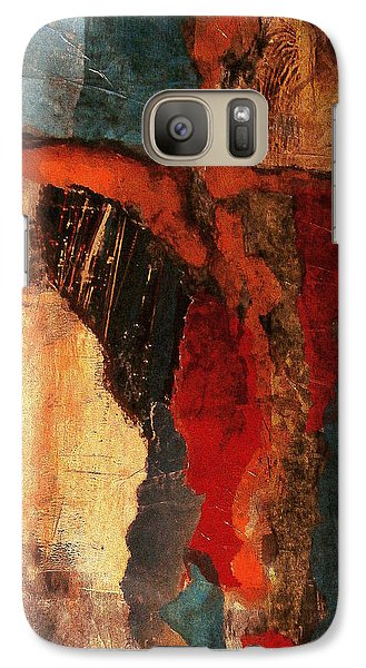 Galaxy Case featuring the painting Infectious by Buck Buchheister
