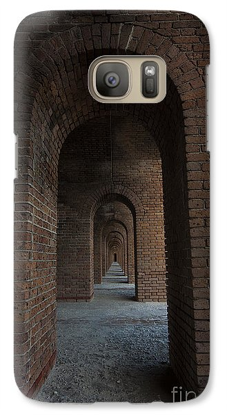 Galaxy Case featuring the photograph Infinite Arch's by Keith Kapple
