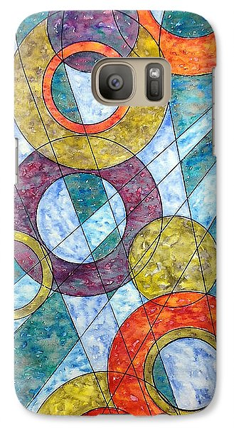 Galaxy Case featuring the painting Infinite Loop by Rebecca Davis