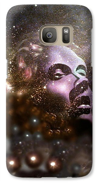 Galaxy Case featuring the painting Infinity by James McAdams