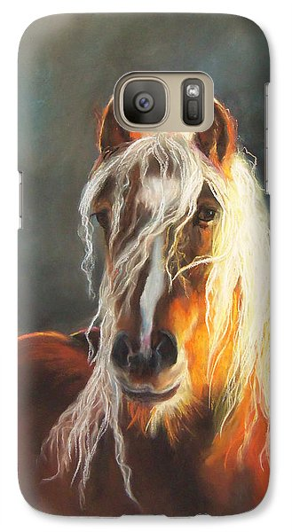 Galaxy Case featuring the pastel Ingalyl by Karen Kennedy Chatham
