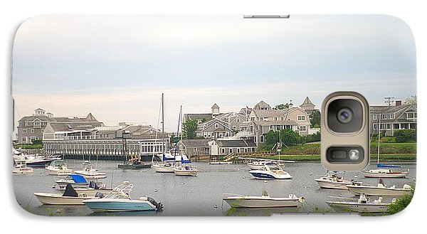 Galaxy Case featuring the photograph Inlet At Harwich Cape Cod Maine by Suzanne Powers