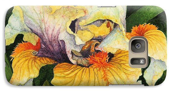 Galaxy Case featuring the painting Inner Beauty by Barbara Jewell
