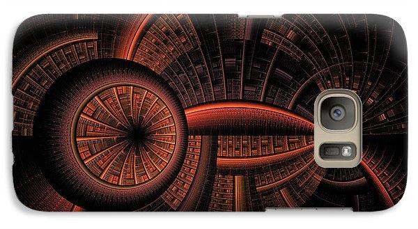 Galaxy Case featuring the digital art Inner Core by GJ Blackman