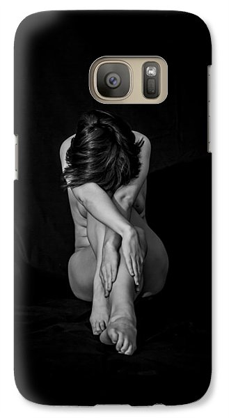 Galaxy Case featuring the photograph Inner Entanglements by Mez