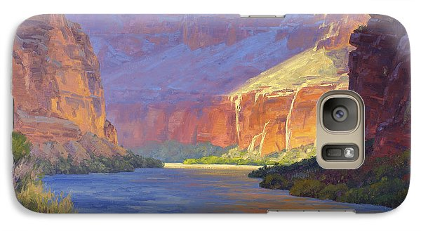 Grand Canyon Galaxy S7 Case - Inner Glow Of The Canyon by Cody DeLong