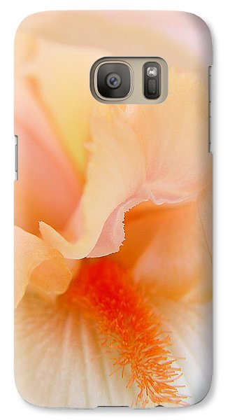 Galaxy Case featuring the photograph Inner Iris 1 Of 4 by Jana Russon