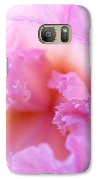 Galaxy Case featuring the photograph Inner Iris-2of4 by Jana Russon