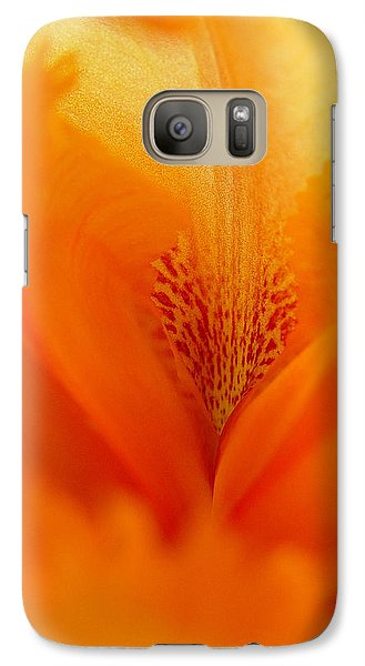 Galaxy Case featuring the photograph Inner Iris 3 Of 4 by Jana Russon