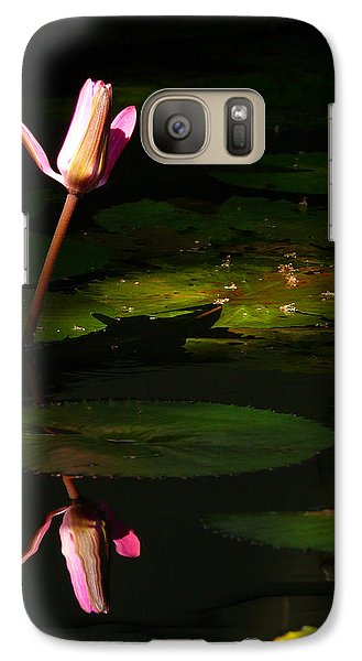 Galaxy Case featuring the photograph Inner Peace by Evelyn Tambour