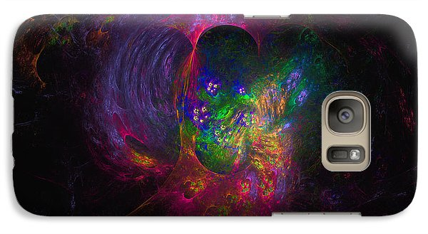 Galaxy Case featuring the digital art Inner Psyche by Arlene Sundby