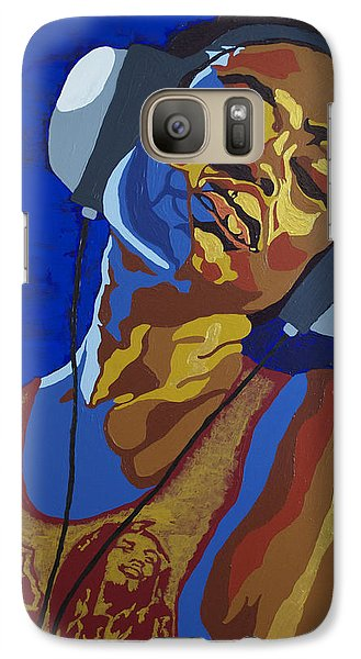 Galaxy Case featuring the painting Innervisions by Rachel Natalie Rawlins