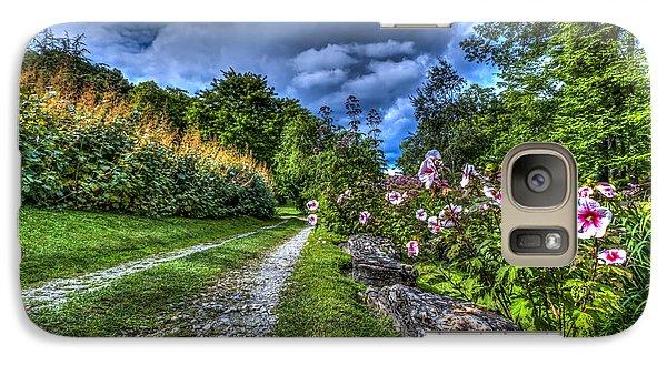 Galaxy Case featuring the photograph Innisfree Gardens by Rafael Quirindongo