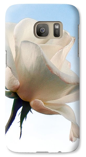 Galaxy Case featuring the photograph Innocence by Deb Halloran