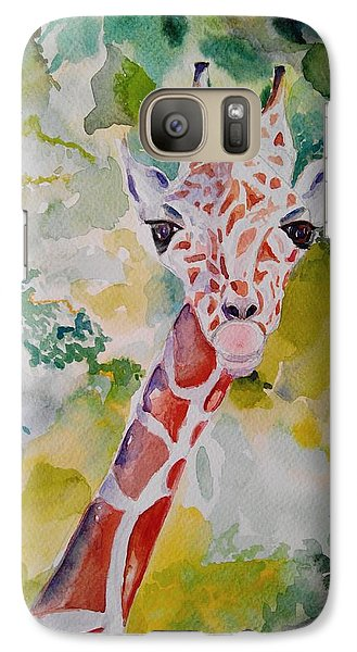 Galaxy Case featuring the painting Innocence by Geeta Biswas