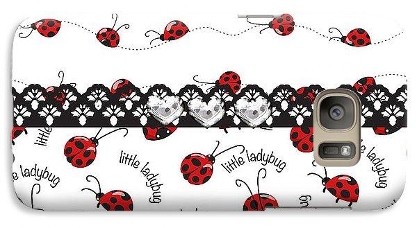 Innocent Ladybugs  Galaxy S7 Case by Debra  Miller