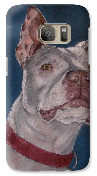 Galaxy Case featuring the painting Inquisitive by Ceci Watson