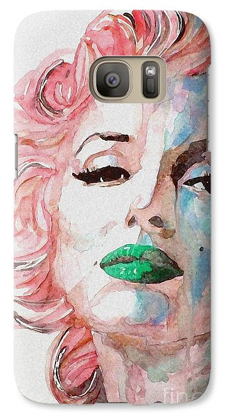Insecure  Flawed  But Beautiful Galaxy Case by Paul Lovering