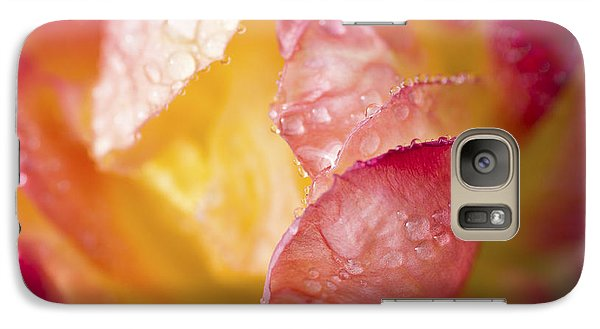 Galaxy Case featuring the photograph Inside A Rose by Priya Ghose