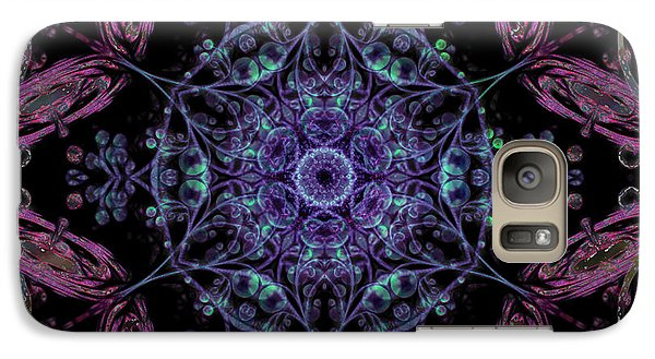 Galaxy Case featuring the digital art Inside A Water Fairy Bubble by Rhonda Strickland