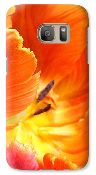 Galaxy Case featuring the photograph Inside Her Journey by The Art Of Marilyn Ridoutt-Greene